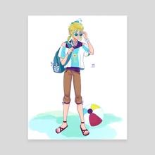 Link the Beach Bum - Canvas by SoraSattou