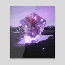 Bounce back - Acrylic by Alexander Pevchev