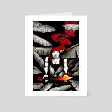 Ogou Feray - Art Card by Pierre-Richard Raphael
