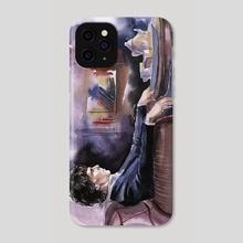 Sherlock Holmes - Phone Case by Alina Mozzherina
