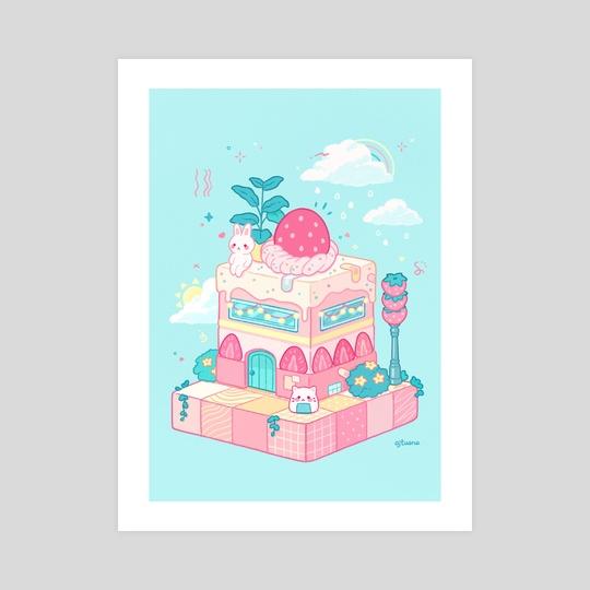 Strawberry Shortcake by Ajtuana