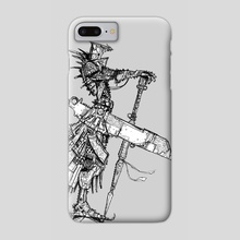 Iron Lord - Phone Case by Ben Hibon