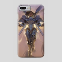 Justice Rains From Above - Phone Case by John Erickson Manalon