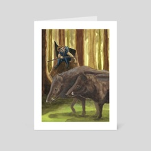 Wild - Art Card by Stephanie Gobby