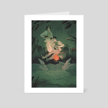 Resurrectionists - Art Card by Alexa Sharpe