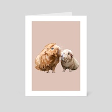 Sing It (Pink) - Art Card by Haley Hanson
