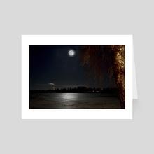 moonlight - Art Card by Stefan Demervall