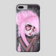 eyes and heart all empty - Phone Case by Rouble Rust