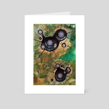 Moltid Pair - Art Card by DarkLetter Books