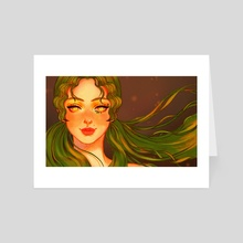 Mint Green - Art Card by Lily Gyoo