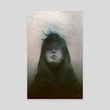 March - Canvas by Reiko Murakami
