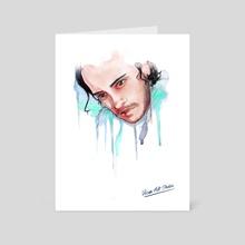 Jon - Art Card by Mona Képíró