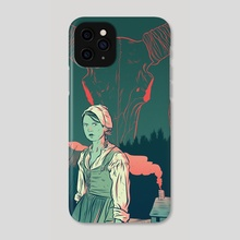 The Witch - Phone Case by Tom Humberstone