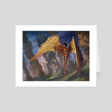 MetaWing - Art Card by Clarence Bateman