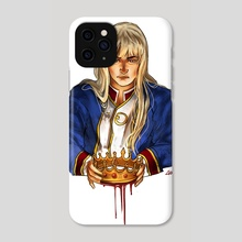 Canute (Knut) of Vinland Saga fanart crown king - Phone Case by Maude & Camille