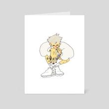 uuuu - Art Card by t1redstff .