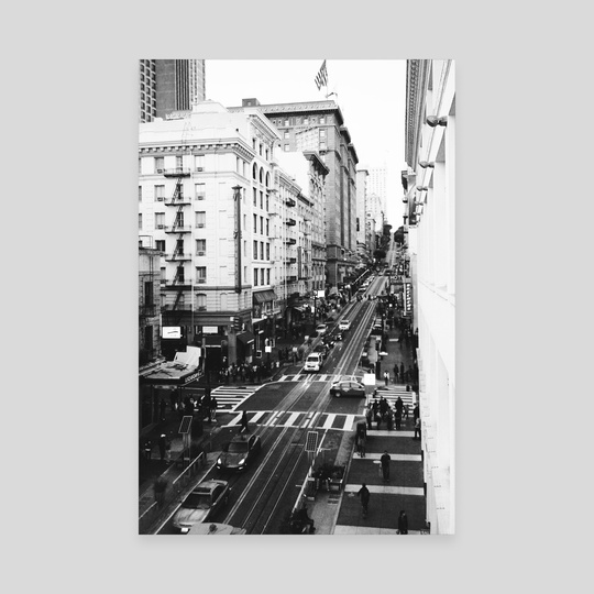 Sf Streets by Travis Medeiros