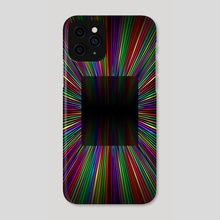 Lines and colors - Fourth shot - Phone Case by Juan Carlos Guzmán