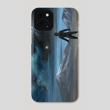 To Touch The Sun Before it Fades - Phone Case by Jeff Ward