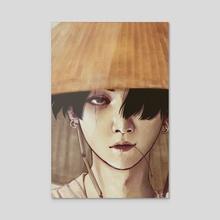 The Rebel - Acrylic by Samadrita Ghosh