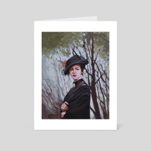 Victorian Lady - Art Card by Tamires Para