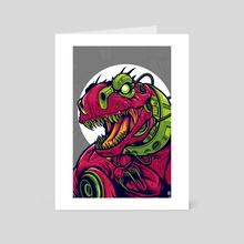 Rexotron V.2 - Art Card by agus setyawan