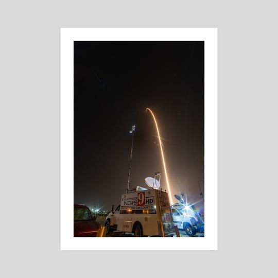 SpaceX Crew Demo 1 - Streak by Jon Galed