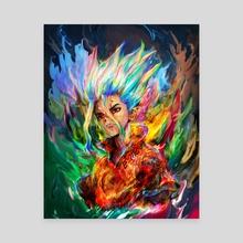 dr stone - Canvas by Maxim G