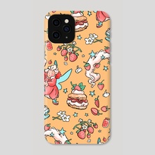 Strawberry Shortcake  - Phone Case by Maggie Tseng