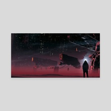 Shape or form - Canvas by Kuldar Leement