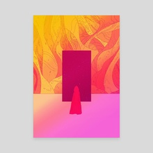 Exit - Canvas by Martin Millar