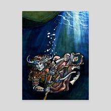 Alter Self - Canvas by Fiona Dunn