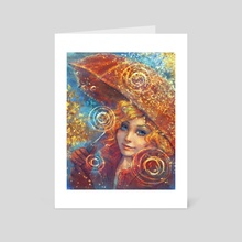 My name is Autumn - Art Card by Incantata Gallery