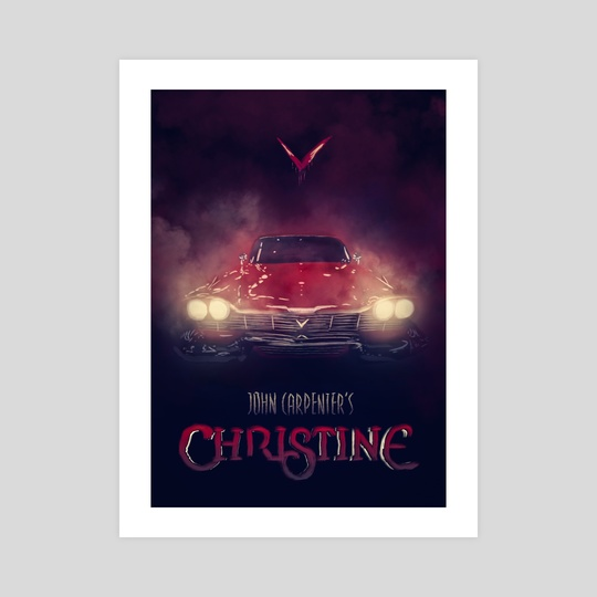 Christine by Thierry Dulau