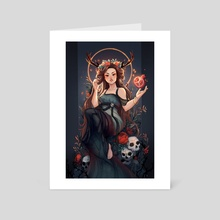 Persephone - Art Card by Christina Barton