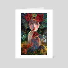 The Rose Eater - Art Card by Schin Loong