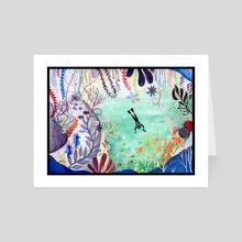 Deep Sea Exploration - Art Card by Gloria Tse