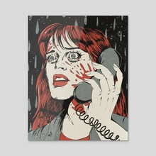Hello, Sidney - Acrylic by Evangeline Gallagher