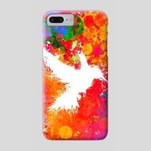 Hummingsplat - Colorless - Phone Case by Alexandre Ibáñez