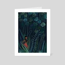 A Jungle Adventure - Art Card by Melissa Nettleship