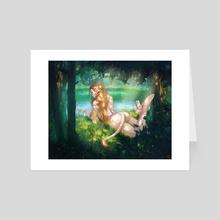 Huldra - Art Card by Amelia Poltoracka
