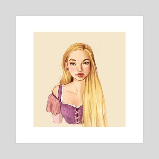 Rapunzel by Chymitzz