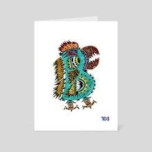 B from A.B.C - Art Card by Luis Duenas