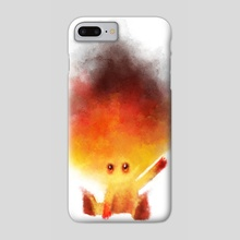 Baby fire - Phone Case by César Samaniego
