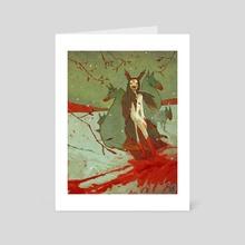 Meute - Art Card by Clo