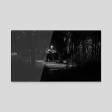 Parc I - Acrylic by STEPHANE HUVE