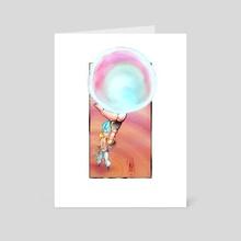 Gogeta - Art Card by Cole Hart