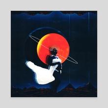 O Nascimento Do Afro Futuro - Canvas by Afroscope