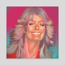 Farrah - Canvas by Frankie Smith
