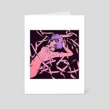 Rei - Art Card by moshimoshibe